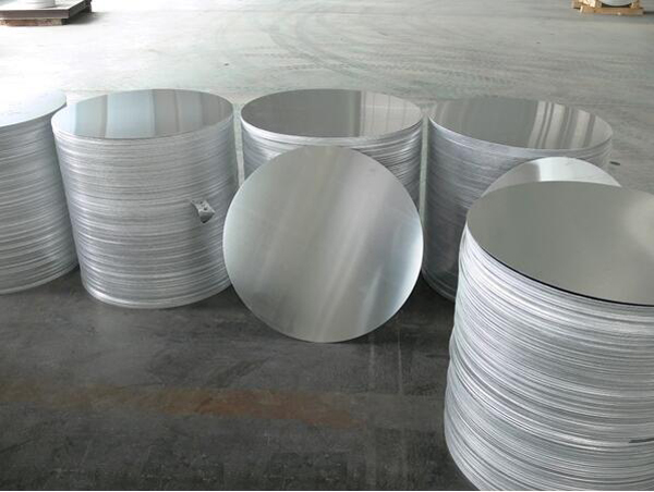 0.36mm ~ 10mm Round Aluminum Circle Mill Finish