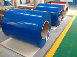 Color coated aluminum coil for roofing sheet