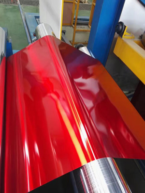 1100 1070 1050 colored aluminum foil sheet for profile