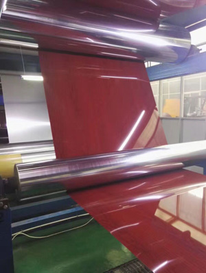 Color aluminum coil used in indoor and shop front decoration