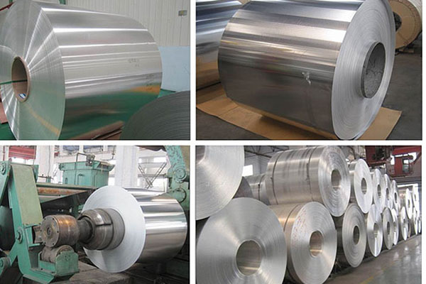 5xxx series aluminum coil with polysurlyn